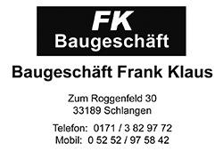 FK Baugeschäft