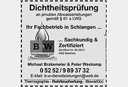 BW Dienstleistungen