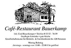 Bauerkamp Cafe