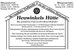 Heuwinkels Huette
