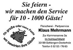 Fleischerei Klaus Mehrmann
