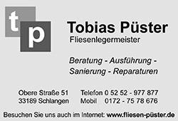 Tobias Püster Fliesenleger