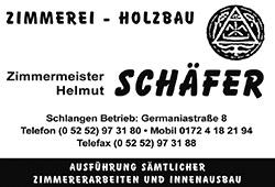 Zimmermeister Schäfer